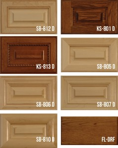 Mitered Solid Wood Panel Doors-Stile & Rail