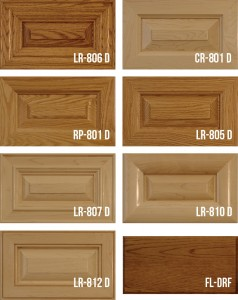 Mitered Solid Wood Panel Doors Stiles & Rail
