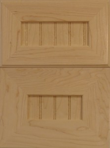 """Mitered-Shaker-With-¼""""-Panel-Doors-Stile-&-Rail"""