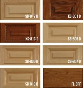 Mitered Solid Wood Panel Doors-Stile & Rail