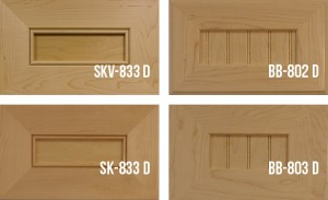 """Mitered Shaker With ¼"""" Panel Doors Stile & Rail"""