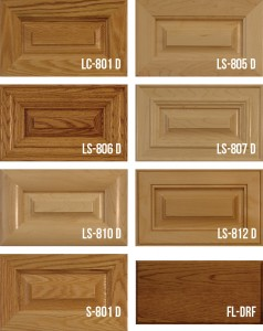 Mitered Solid Wood Panel Doors Stile & Rail
