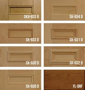 "Shaker with 1/4"" Panel Cabinet Doors Stile & Rail"